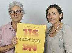 L'acte central d''Ara és l'Hora', el dia 19 a Plaça Catalunya - elsingular.cat, 09/10/2014. L'acte central de la campanya 'Ara és l'Hora', conjunta entre l'ANC i Òmnium, tindrà lloc el diumenge 19 d'octubre a Plaça Catalunya, i vol presentar la posada en marxa els preparatius de la consulta del 9 de novembre. Demà les presidentes de les dues entitats, Carme Forcadell i Muriel Casals -respectivament- presentaran l'acte conjuntament amb Ignasi Termes, coordinador de les accions.