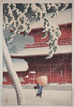 L'élégance délicate des intempéries dans ces estampes japonaises