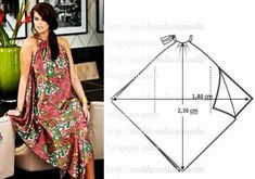 New Dress Pattern Free Sewing Fashion Templates 57 Ideas Diy Clothing, Sewing Clothes, Dress Sewing Patterns, Clothing Patterns, Fashion Sewing, Diy Fashion, Costura Fashion, Diy Kleidung, Diy Vetement