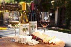 Wine and Cheese pairing at Grgich Hills Estate.