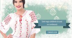 www.romanianlabel.ro Ruffle Blouse, Shoulder, Lace, Tops, Women, Fashion, Moda, Women's, La Mode