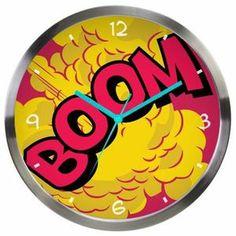 Relógio de Parede DC Comics - Boom