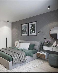 Master Bedroom Interior, Bedroom Closet Design, Modern Bedroom Design, Home Room Design, Home Decor Bedroom, Home Interior Design, Decor Room, Bedroom Rustic, Industrial Bedroom