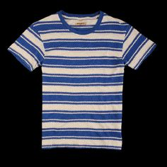 UNIONMADE - Levi's Made and Crafted - Regular Tee Zig Zag Blue