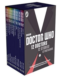 Twelve amazing adventures for the 12 Doctors written by 12 of the most exciting authors living in our galaxy today, including two Children's Laureates. A gorgeous, highly collectible gift edition of 12 Doctors, 12 Stories, featuring 12 beautifully designed mini paperbacks and 12 exclusive postcards in a TARDIS slipcase.
