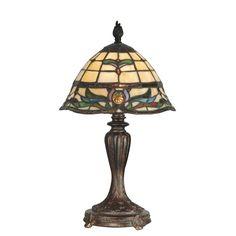 Dale Tiffany Table Lamp - 10.25-watt in.