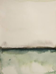 Herføl by Koen Lybaert. Medium: Watercolor on paper; Exhibitions: Koen Lybaert and Richard Whadcock, Koen Lybaert Solo; Watercolor Landscape, Abstract Watercolor, Watercolor And Ink, Landscape Paintings, Watercolor Paintings, Abstract Art, Art Paintings, Watercolours, Original Paintings