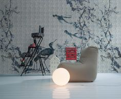 Undressing Surfaces: the first contract wallpaper collection by Inkiostro Bianco