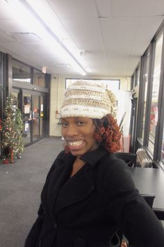 Smile for the camera now,click,click.  AWE!Some #Crochet by Gina Renay ImaGINAtions #customer #ilovewhatido