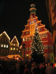 Christmas Market in Esslingen #Germany.... so on my bucket list!