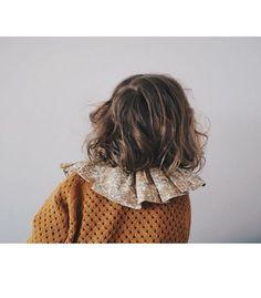 So cute in #columbine_collar and #mila_cardigan @jbpanton #pierrotlalune #weareorganic