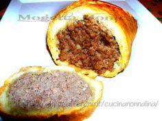 Polpettone in crosta di pane,ricetta di riciclo