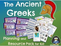 Ancient Greeks: 10 lessons for A fully-resourced unit of 10 history lessons for covering the Ancient Greece topic. This planning pack . Primary History, Teaching History, Teaching Resources, Ancient Greece Ks2, Ancient Egypt, Ancient Greek Olympic Games, Athens And Sparta, Marathon Plan, Horse Story