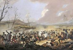 The Battle of Orthez (27 February 1814) saw the Anglo-Portuguese Army under Field Marshal Arthur Wellesley, Marquess of Wellington defeat a French army led by Marshal Nicolas Soult in southern France near the end of the Peninsular War.