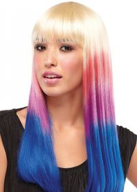 Hair Extensions.com :: The Hair Professionals :: Sexy Hair / Wigs :: Party Girl Candy Stripe by Jon Renau