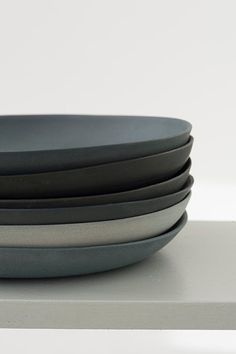 Multiple ceramics shades of grey