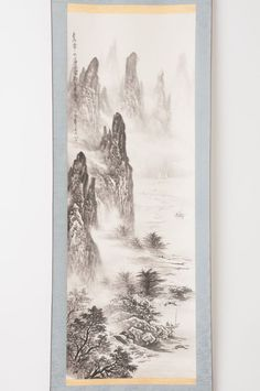 Check out Chinese hanging scroll Landscape painting Antique wall art hs0680  http://www.ebay.com/itm/Chinese-hanging-scroll-Landscape-painting-Antique-wall-art-hs0680-/112025261782?roken=cUgayN&soutkn=Ivw89V via eBay
