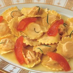 Recipe for Pumpkin Ravioli : La Cucina Italiana