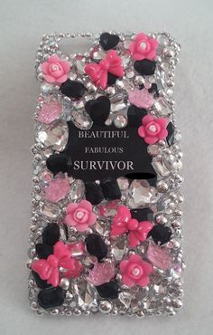 BEAUTIFUL SURVIVOR  Handmade Made to Order Cell by ExpressiveCases