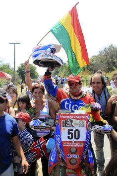 Chavo Salvatierra en el Dakar 2013 #dakar2013