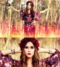 Flávia Desgranges van der Linden - My Philosophy Dress, Mila E Uma Coisas Bracelets, K Is For Kani Headpiece - Lifeline