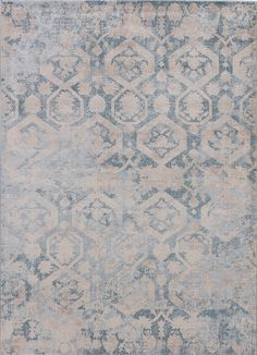 With the timeworn look of a traditional, antique rug that has faded over time, this machine-made polyester piece will have visitors convinced they're walking on a family heirloom