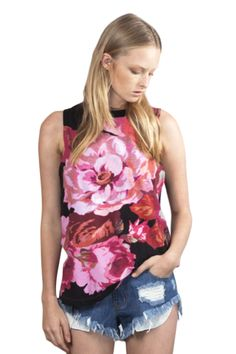 Elevate Tank by Cameo the label http://www.tadameboutique.com/collections/new-arrivals/products/elevate-tank-by-cameo-the-label#sthash.Nht2E26h.dpbs <---  #aussiefashion #australianfashion #designerfashion #cameothelabel #cameolabel #cameo #floraltank