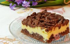 Delicious pudding cake with puff pastry Italian Cookies, Pudding Cake, Easy Cake Recipes, Original Recipe, Brunch, Food And Drink, Sweets, Baking, Ethnic Recipes