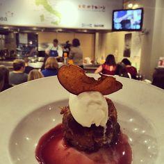 Apple Pandoro Pudding