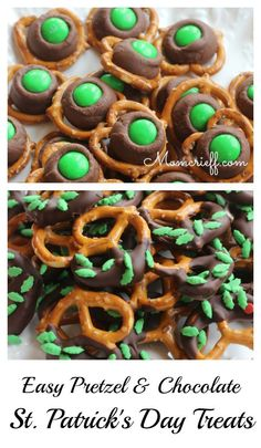 Easiest St. Patrick's Day Treats!  Quick to make but taste so good!
