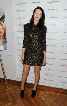 Model Caitriona Balfe attends the 'Picture Me: A Model's Diary' reception at The National Arts Club on September 8, 2010 in New York City.