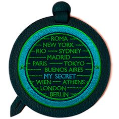 Gepäckanhänger mit Label CITIES von Sign of Mine: personalisierbar - 45 €