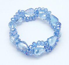PandaHall Jewelry—Handmade Stretch Glass Bracelets | PandaHall Beads Jewelry Blog