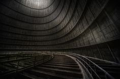 prepare to qualify/ Abandoned Cooling Tower