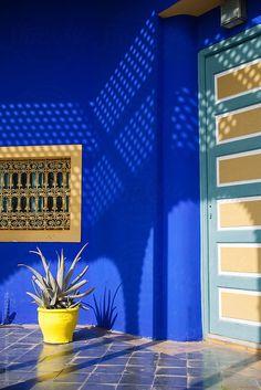 Jardin majorelle: Marrakech. Morocco. by Darren Muir for Stocksy United