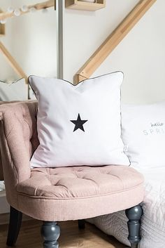 Star cushion cover pillowcase pillow,stars cushion,embroidered pillow,monochrome cushion,stars pillow,star pillowcase Bed Cushions, Throw Pillows, Typography Cushions, White Christmas Stockings, Star Cushion, Cushion Covers, Pillow Cases, Trending Outfits, Handmade Gifts