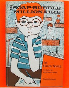 The Soap Bubble Millionaire 1960s Childrens Book from www.englisholdschool.etsy.com