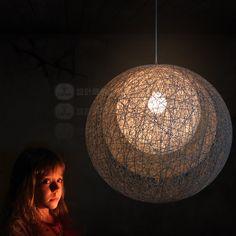 FERR SHIPPING EMS pendant lamp Hana mayuhana light pendant light Multilayer chinlon lamp 3 the ball parts