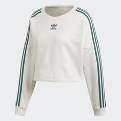 Shop women's adidas hoodies and sweatshirts including trefoil logo, & pullover hoodies. See all colors and styles in the official adidas online store. Sporty Outfits, Girly Outfits, Cute Casual Outfits, Fashion Outfits, Sweat Shirt, Jungle Outfit, Nike Sweatshirts, Adidas Outfit, Adidas Hoodie