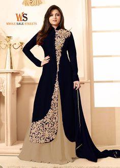 Designer Gown Salwar Suit http://www.wholesalestreets.com/product/straight-blue-red-designer-salwar-suit/  Whatsapp +918000805570 +917359438413  #wholesalestreets   #ladies #Girls #women #designer #Salwar #suit #Surat #Textile #Digital #Printed #Lace #work #Heavy #Anarkali #Kurti   #saree #Lahenga #Choli #Kaftan #islamic #wear #Indian #wear  #Leggings #Export  #textile #Wear #Top  #tunic #westrenwear #Dresses #Gown #Saree  #export #import