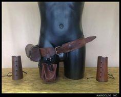 PIRATE BELT COG leather oLMo Larp latex weapons armi grv