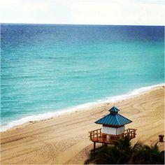 Las playas de #Miami, #Florida, a la espera de la llegada de los #turistas.