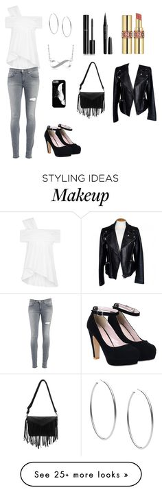 """""""Untitled #48"""" by feralblossom on Polyvore featuring Maticevski, Michael Kors, Dondup, Chanel, Marc Jacobs, Alexander McQueen and Yves Saint Laurent"""