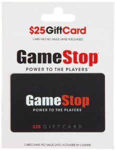 Lance  Game Stop Gift Card, he loves his games!