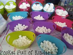 Top Teacher's Kinderland: Using marshmallows for math plus a TON of freebies linked in the post!