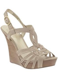 Seychelles Midas Touch Wedges.  I have them in gunmetal and they are absurdly comfortable... would like them in nude