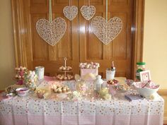 Wedding sweet table at my friend's big day! #sweets #weddingideas