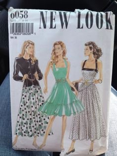 New Look 6058 Size 616 Misses' Dress In Two by Madelinescrafts, $7.99