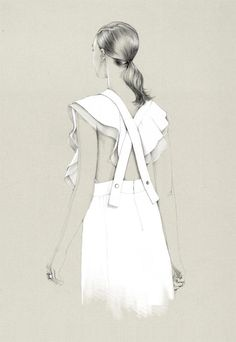 Fashion Illustrations by Caroline Andrieu (4)