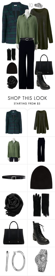 """""""Cozy Workday"""" by rothe-marie on Polyvore featuring P.A.R.O.S.H., Apt. 9, Brandon Maxwell, Lauren Ralph Lauren, rag & bone, Gearonic, Balenciaga, La Perla, Madden Girl and Chaps"""
